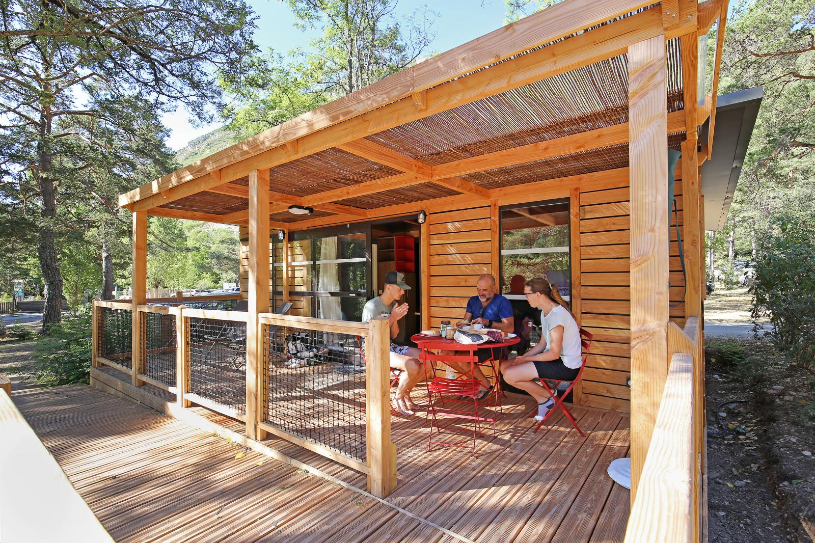 Camping Huttopia Verdon Gorge, Castellane, Alpes-de-Haute-Provence