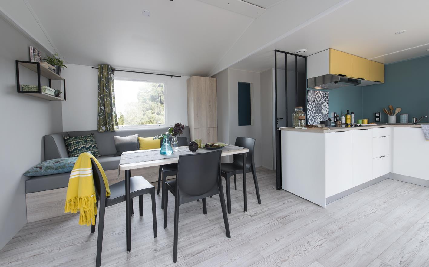 Location - Mobil Home Ciela Prestige - 40M² - 1 Suite Parentale- 2 Chambres- 2 Salles De Bain- Climatisation - Tv - Lave Vaisselle - Draps Inclus - Camping Terra Verdon-Ciela Village