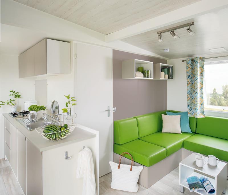 Location - Mobil Home Ciela Confort - 33M² -3 Chambres- Climatisation - Tv - Camping Terra Verdon-Ciela Village