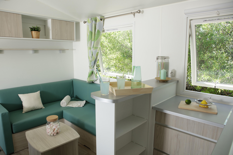 Location - Mobil Home Ciela Confort - 40M² - 4 Chambres - Climatisation - Tv - Camping Terra Verdon-Ciela Village