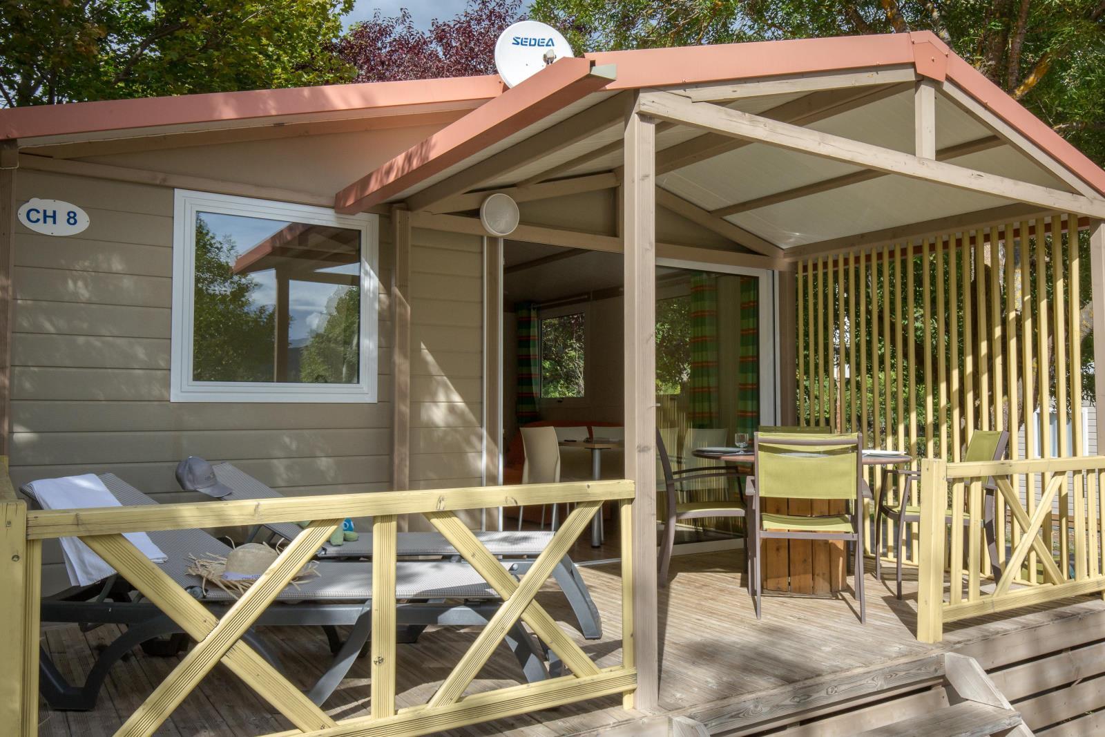 Location - Mobil Home Ciela Classic Chalet - 31M² - 2 Chambres - Camping Terra Verdon-Ciela Village