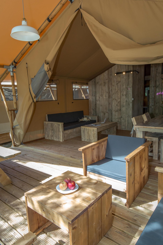 Location - Tente Ciela Nature Lodge - 60M² - 2 Chambres- - Salle De Bain - Camping Terra Verdon-Ciela Village