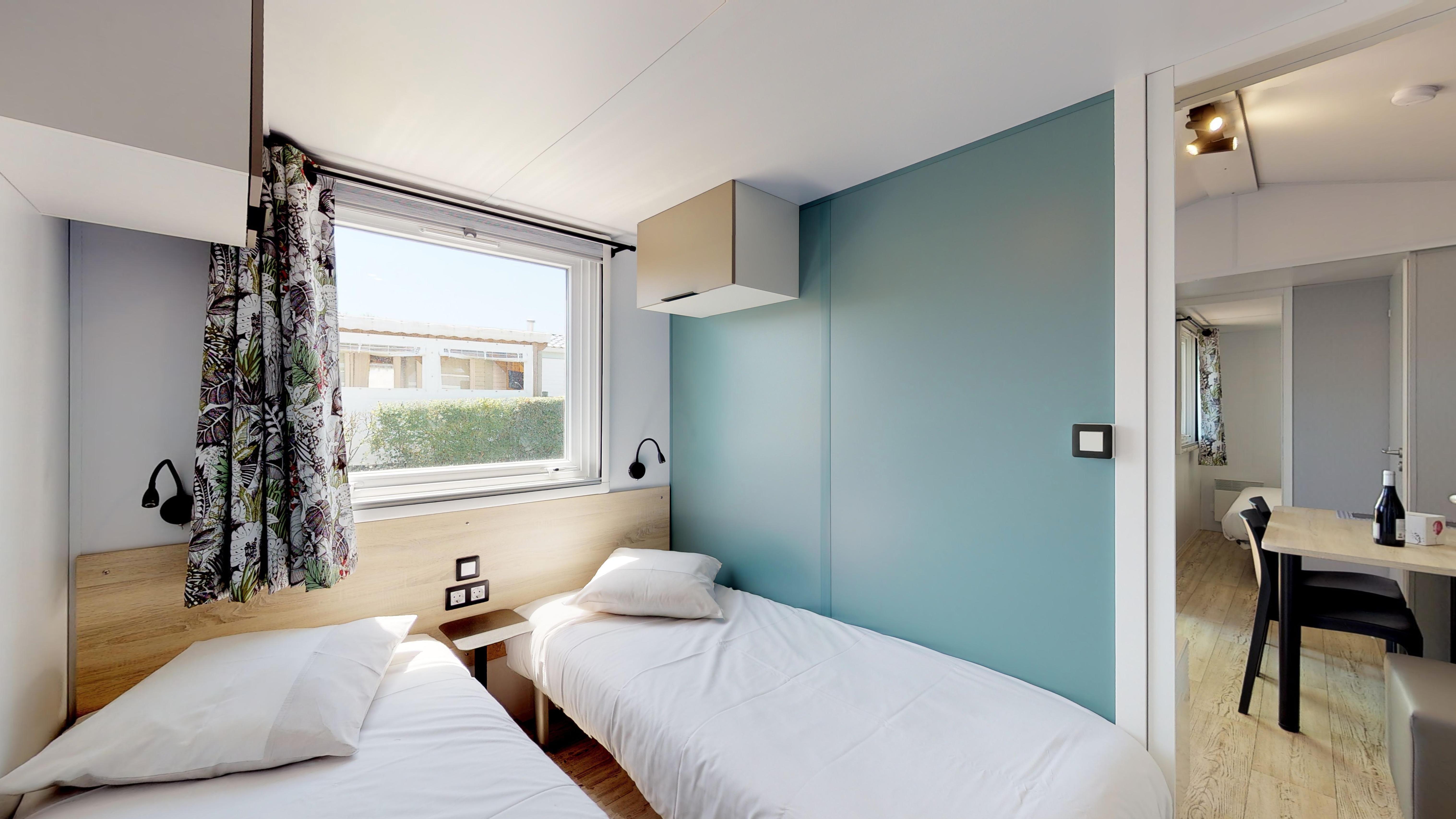Mobilhome Premium Terrasse Couverte 2 Chambres 33 m²