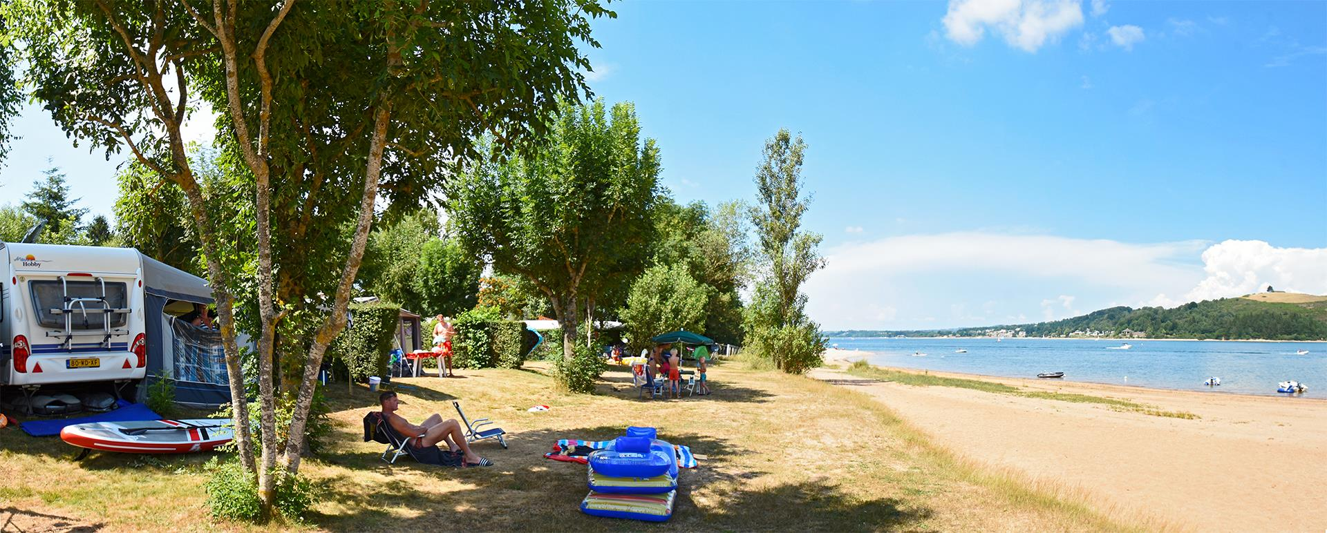 Camping les Genêts, Salles-Curan, Aveyron