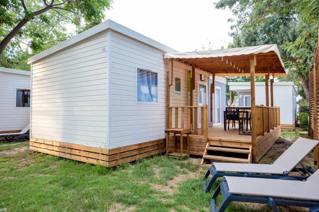 Location - Mobil Home Ciela Confort - 39M² - 4 Chambres - Climatisation - Tv - Lave Vaisselle - Camping Les Marsouins