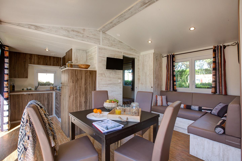 Location - Cottage Okavango*** (2 Chambres) Climatisé - Yelloh! Village Le Brasilia