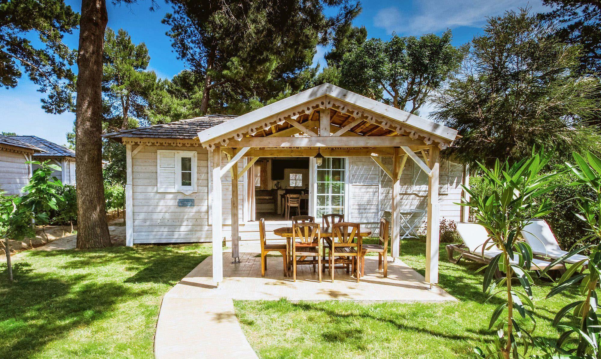 Location - Cottage Les Créoles **** (2 Chambres) Climatisé Quartier Créoles - Yelloh! Village Le Brasilia