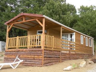 Location - Mobil-Home  Ophea 934 35M² (3 Chambres) Avec Terrasse Couverte 10M² - Camping Domaine Naturiste des Lauzons