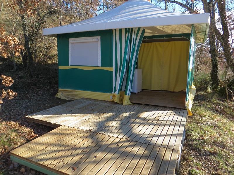 Location - Tente Bengali - Camping Domaine Naturiste des Lauzons