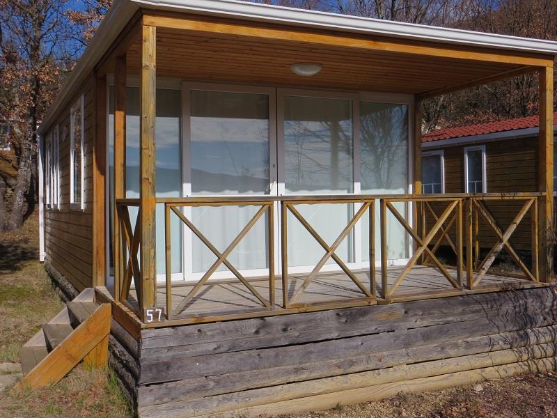 Location - Mobil-Home  Ophea 834 32M² (2 Chambres) Dont Terrasse Couverte - Camping Domaine Naturiste des Lauzons