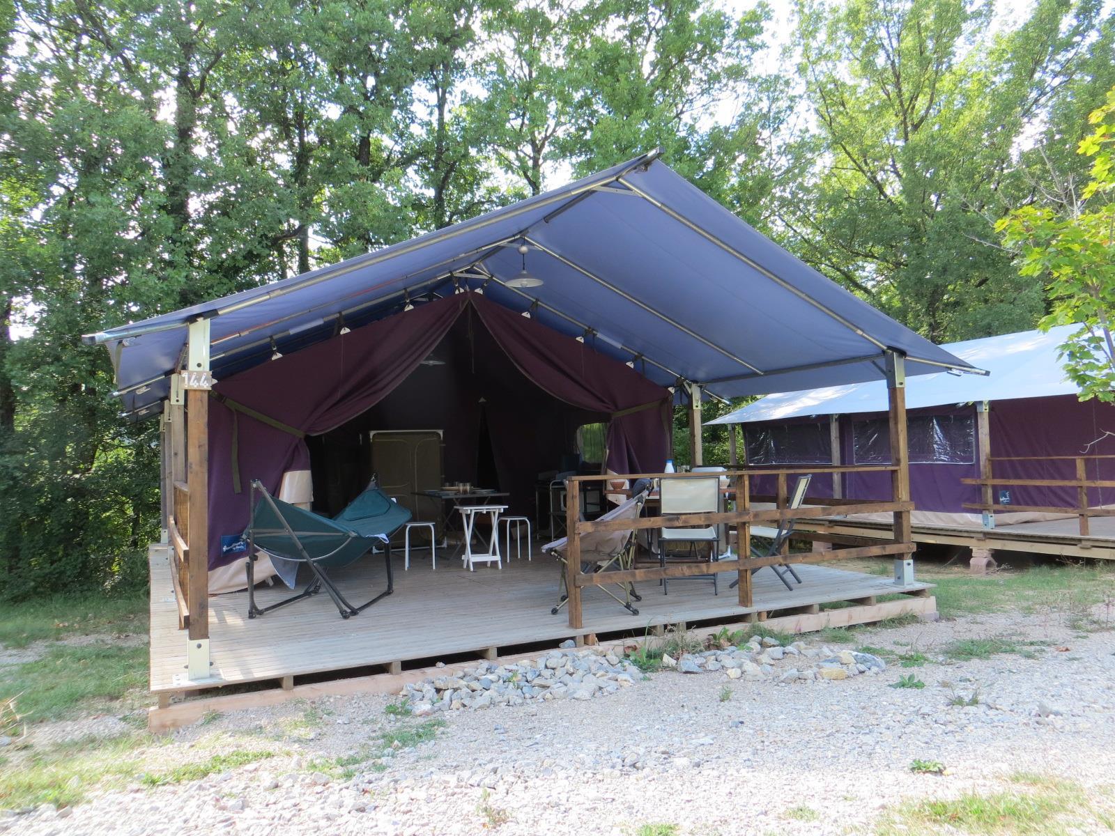 Location - Lodge Freeflower  37M² - Camping Domaine Naturiste des Lauzons