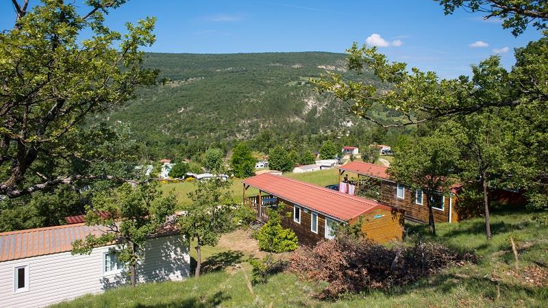 Camping le Domaine des Lauzons, Forcalquier, Alpes-de-Haute-Provence