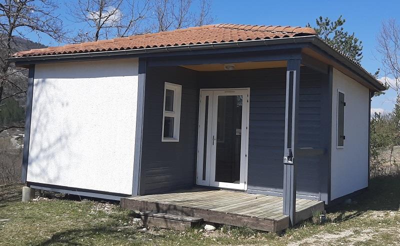 Location - Chalet  Duo 36M² (1 Chambre) Dont Terrasse Couverte - Camping Domaine Naturiste des Lauzons