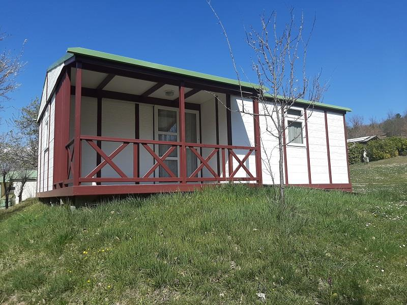 Location - Chalet  Pmr 33M² (2 Chambres) Dont Terrasse Couverte - Camping Domaine Naturiste des Lauzons
