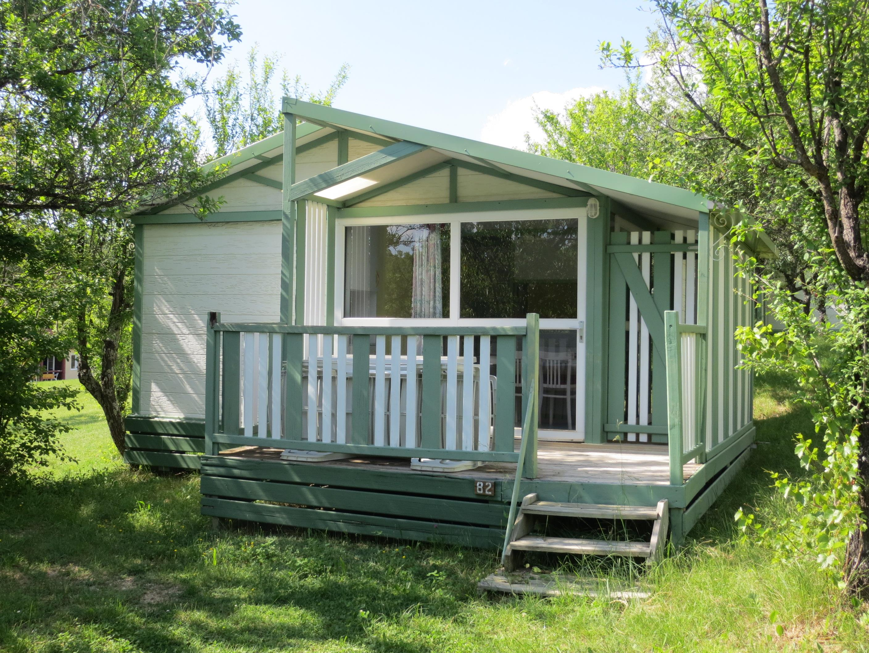 Location - Chalet  Titom 31M² (2 Chambres) Dont Terrasse Couverte - Camping Domaine Naturiste des Lauzons