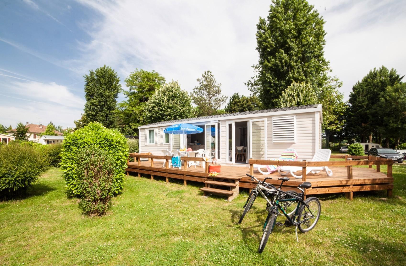 Location - Mobil Home Apollon - Camping La Belle Étoile