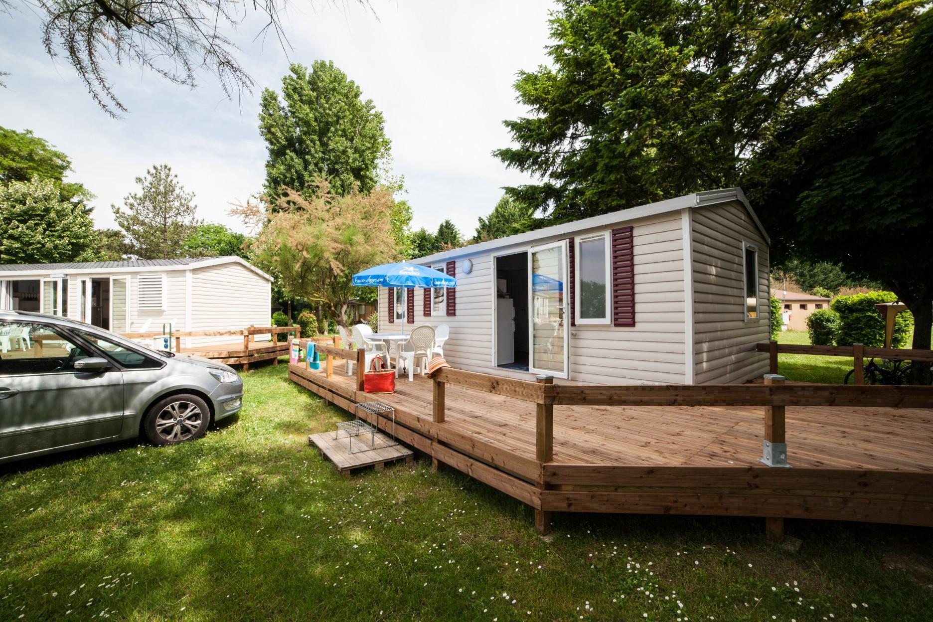 Location - Mobil-Home Titania - Camping La Belle Étoile