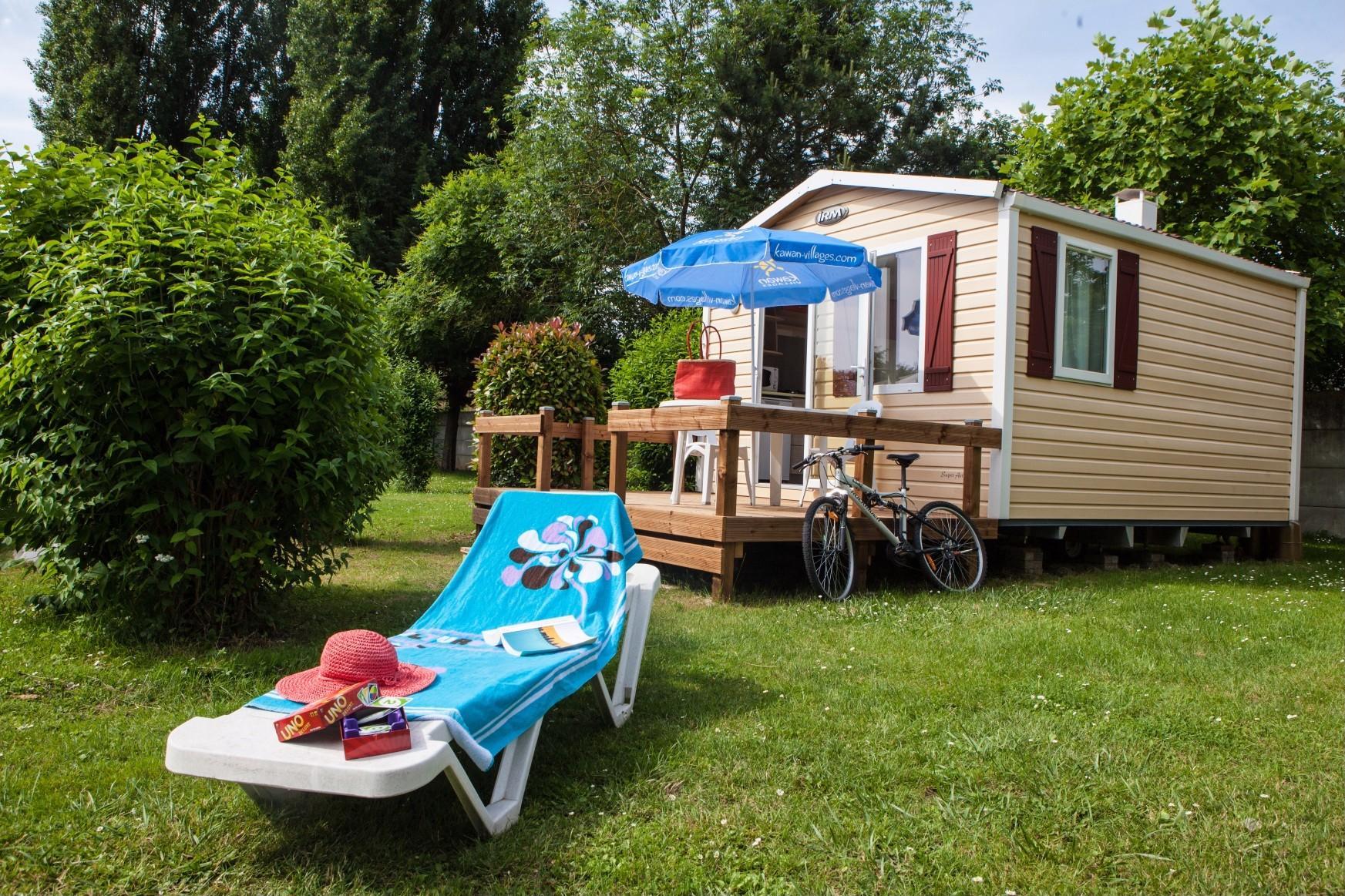 Location - Mobil-Home Astria - Camping La Belle Étoile