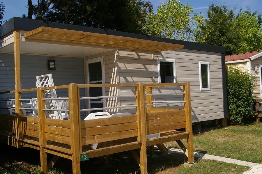 Location - Mobil-Home Sequana - Camping La Belle Étoile