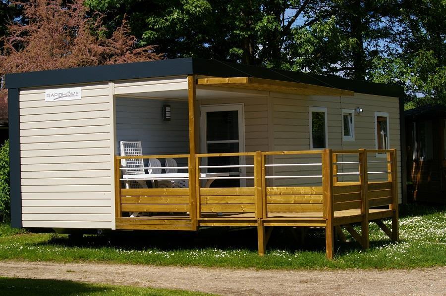 Location - Mobil-Home Lutetia - Camping La Belle Étoile