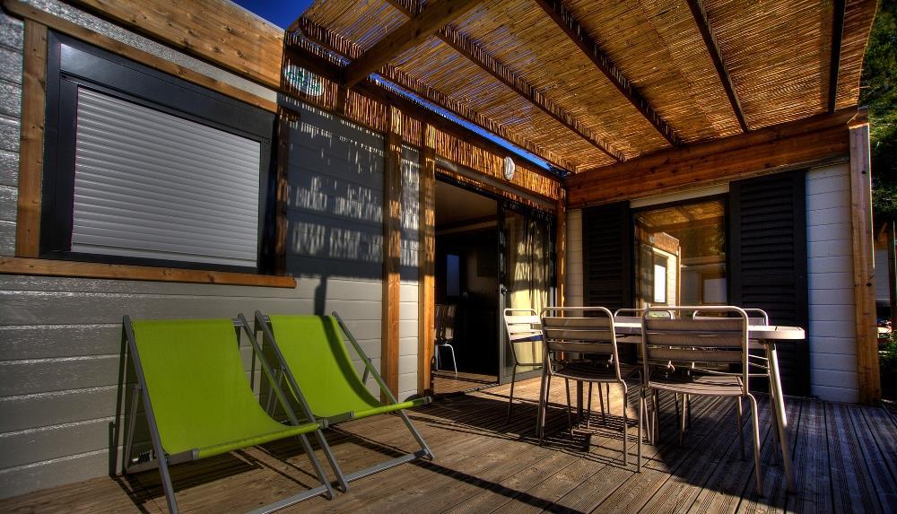 Chalet Lagon Premium 32m² climatisé