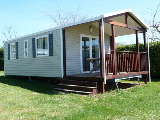 Mobil-Home 2 chambres 24m² Modèle Panama 2012 + terrasse couverte 9m² (2 Modèles sur le camping)
