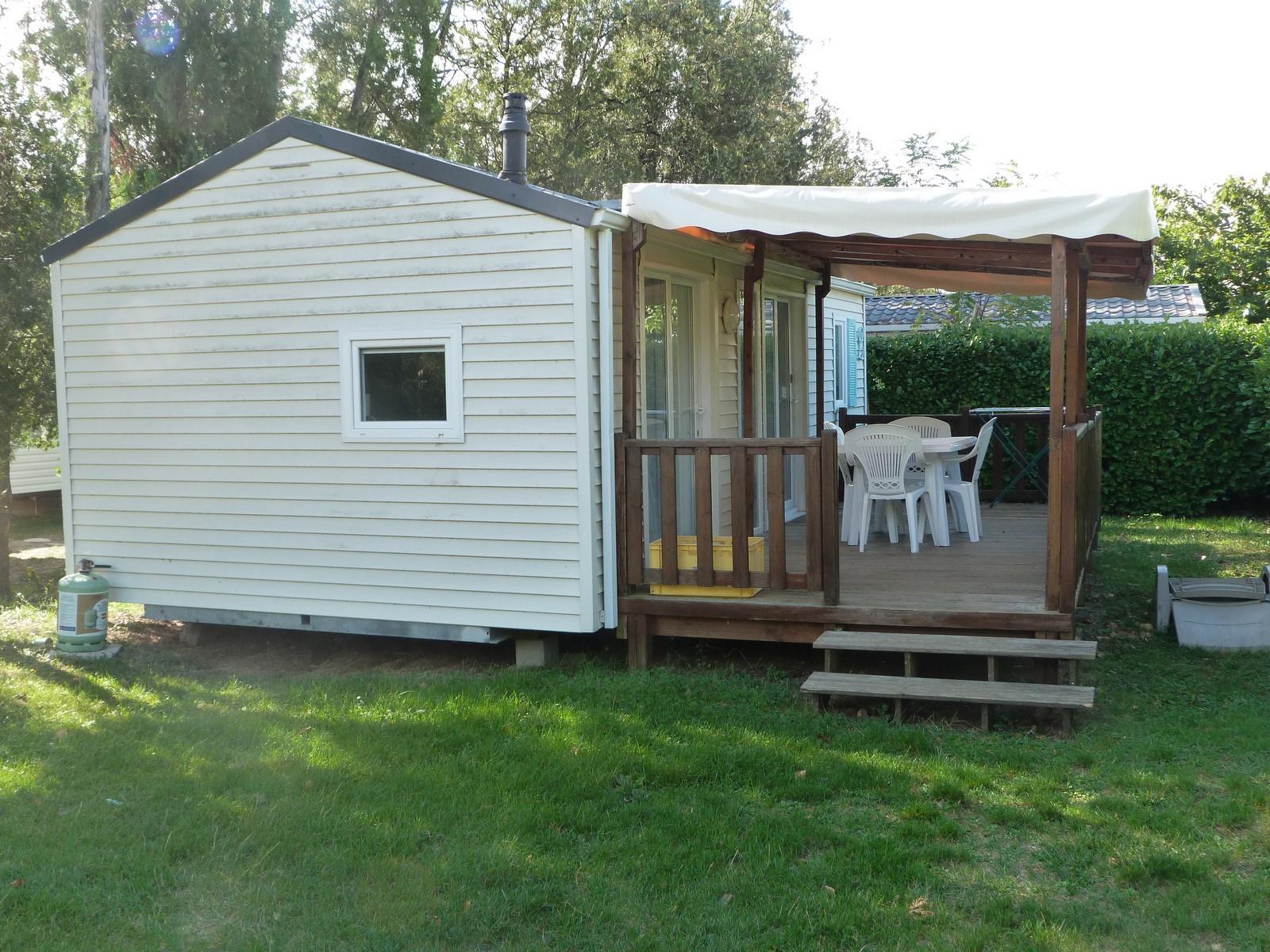 Mobil-Home 2 chambres - 30m² + terrasse couverte 14m² (3 Modèles sur le camping)