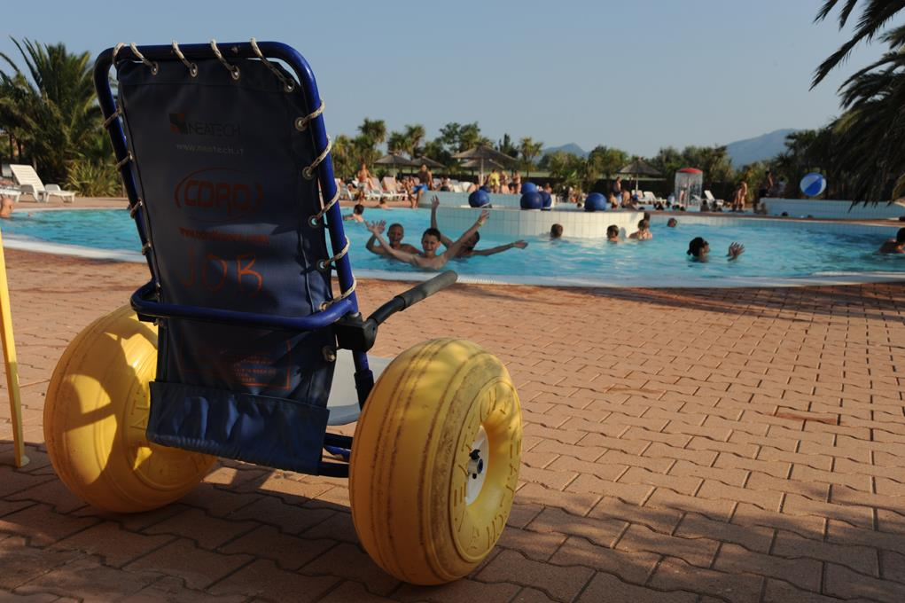 Wheelchair friendly Camping Cala Gogo - St Cyprien
