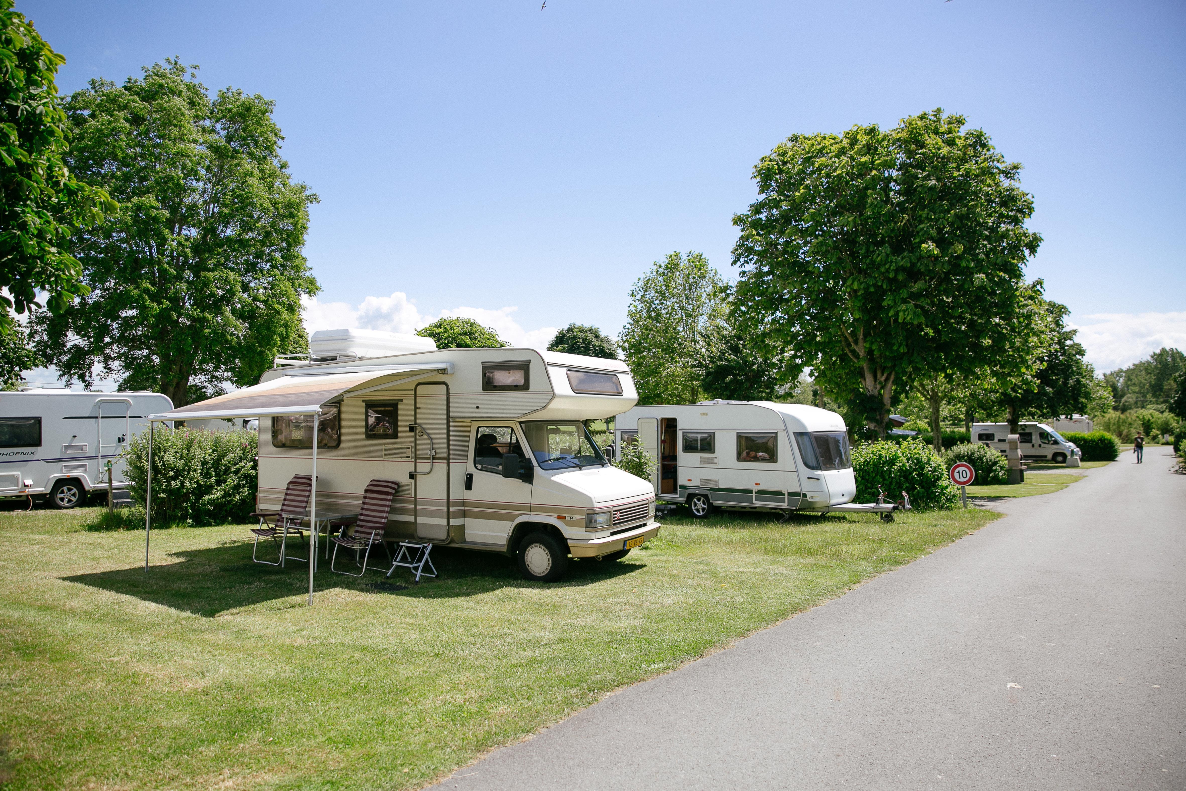 Camping le Saint Michel, Courtils, Manche