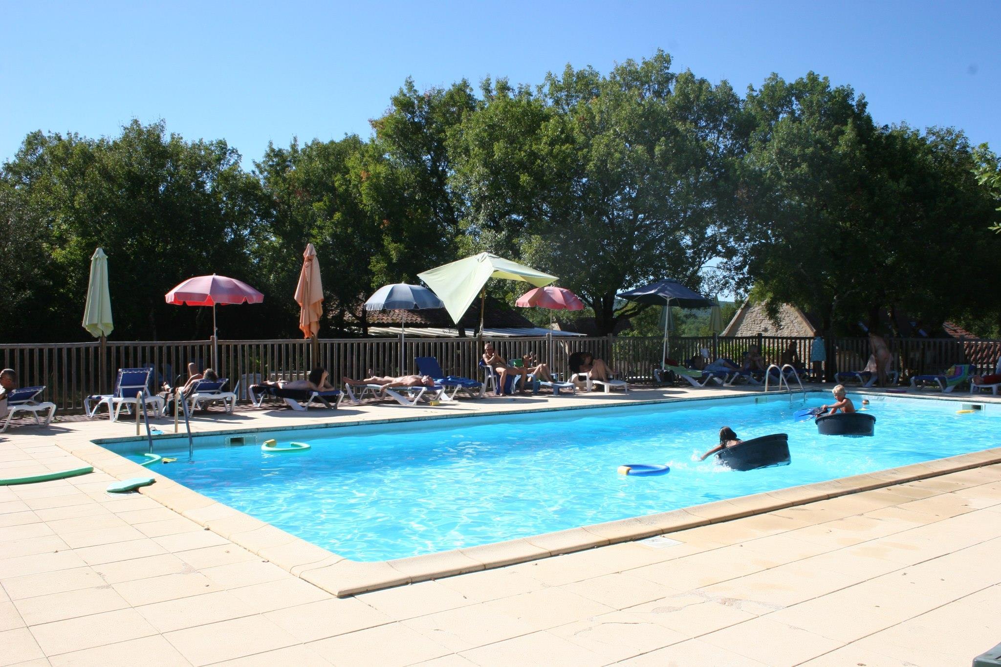 Camping Lalbrade, Limogne-en-Quercy, Lot