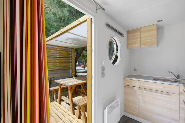 Location - Mobil Home Mestral (2 Adultes + 1 Enfants -10 Ans) - Camping Salatà