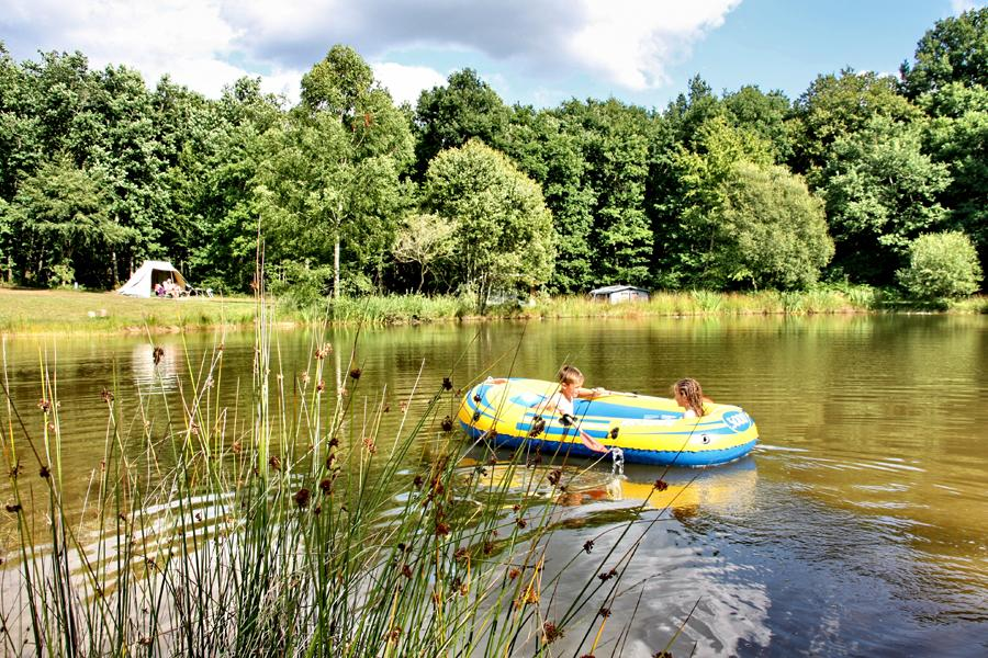 Camping Creuse Nature, Boussac, Creuse