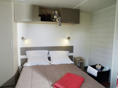 MOBIL-HOME STANDING RESIDENTIEL PACIFIQUE - 2 bedrooms + Sofabed 1/4 pers.?q=100