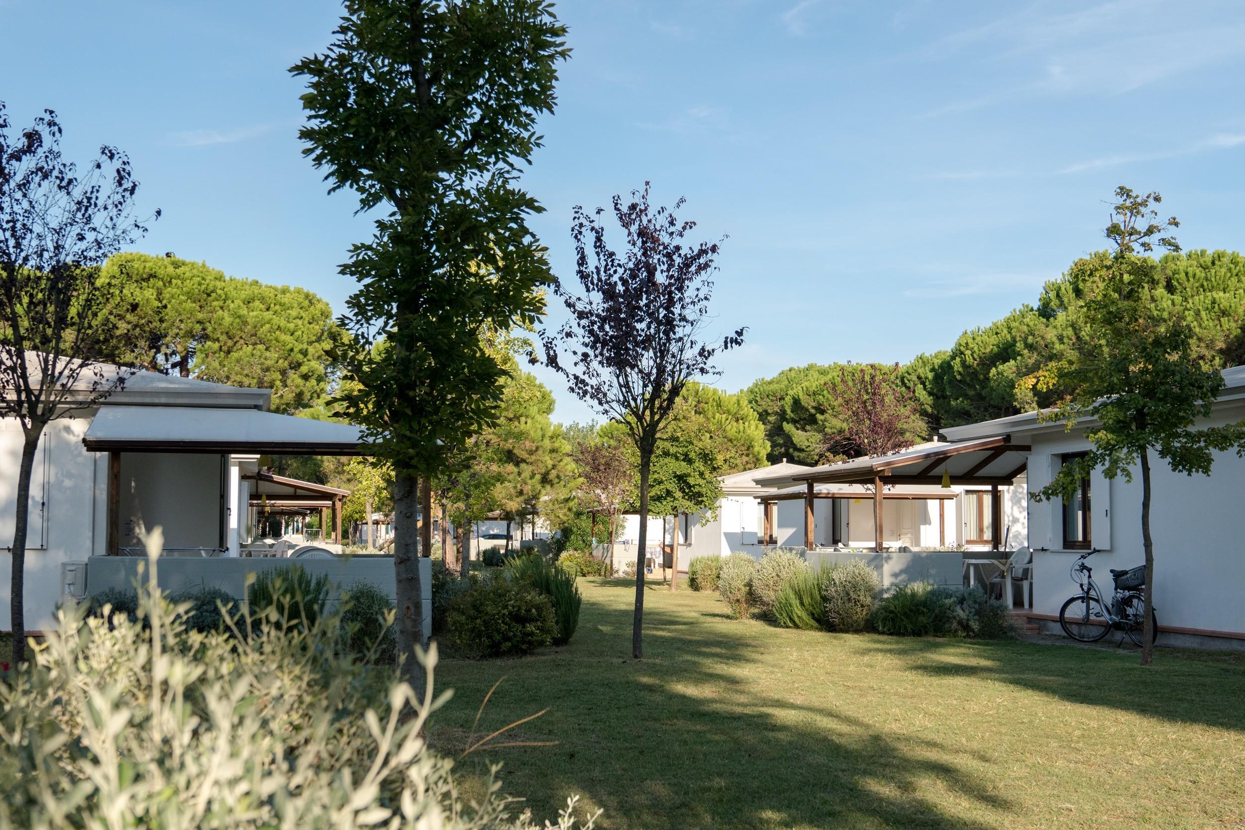 Location - Bungalow Comfort - Camping Ca' Savio