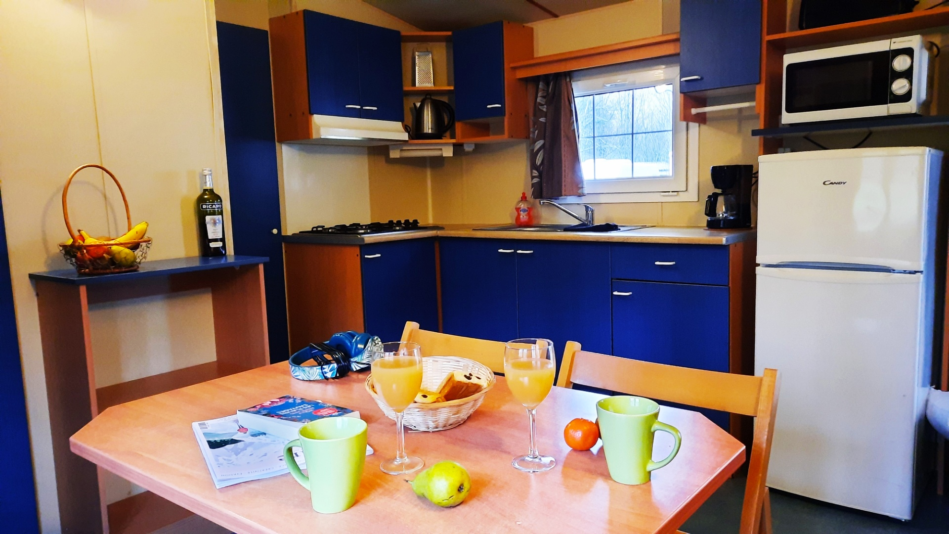 Location - Cottage Mercure 4/6 Pers 2 Chb 1 Sdb - Camping La Roucateille