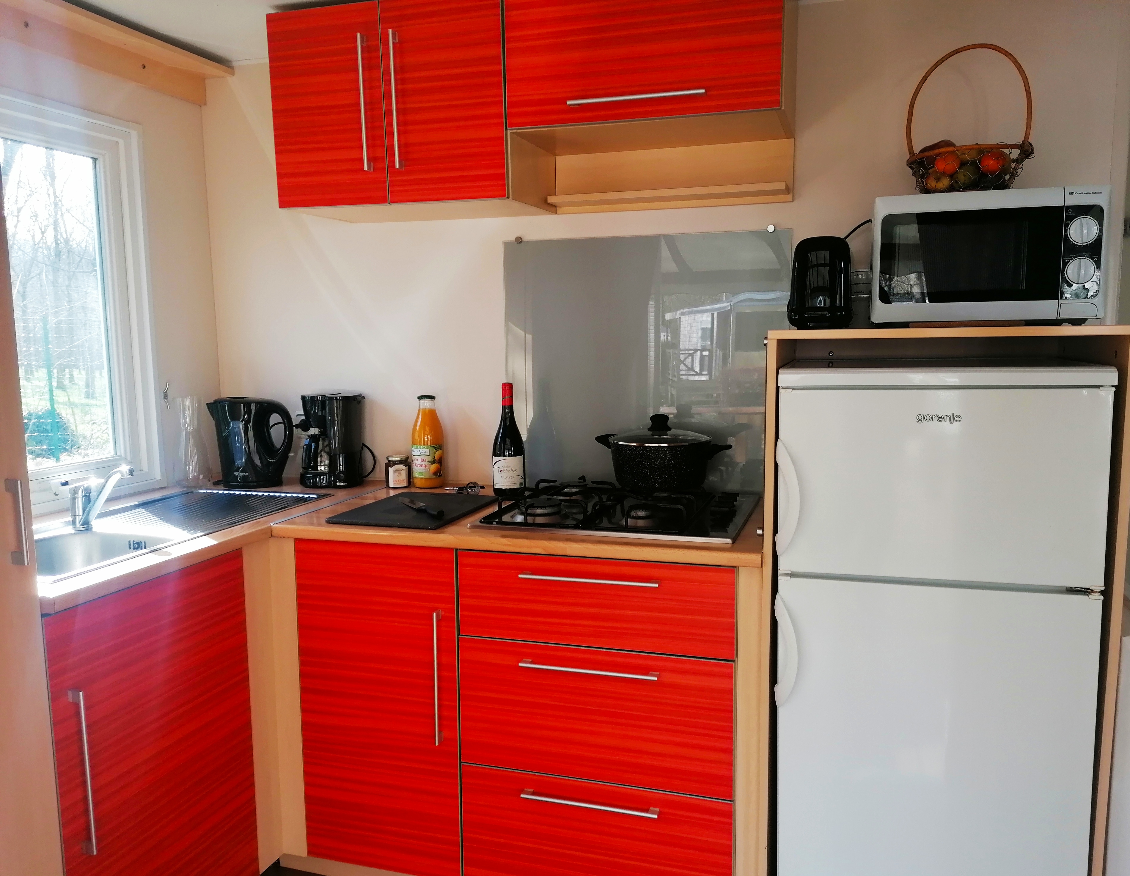 Location - Cottage Riviera Climatisé 4/6 Pers 2 Chb 1 Sdb - Camping La Roucateille