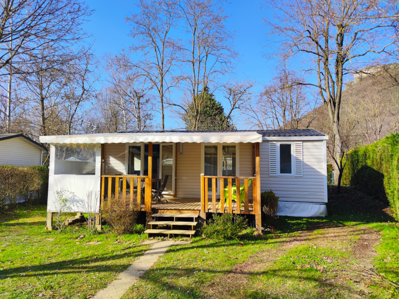 Location - Cottage Grand Confort Climatisé 4 Pers 2 Chb 1 Sdb - Camping La Roucateille