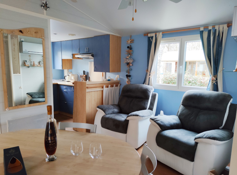 Location - Cottage Grand Confort Ocean 4 Pers 2 Chb - Camping La Roucateille