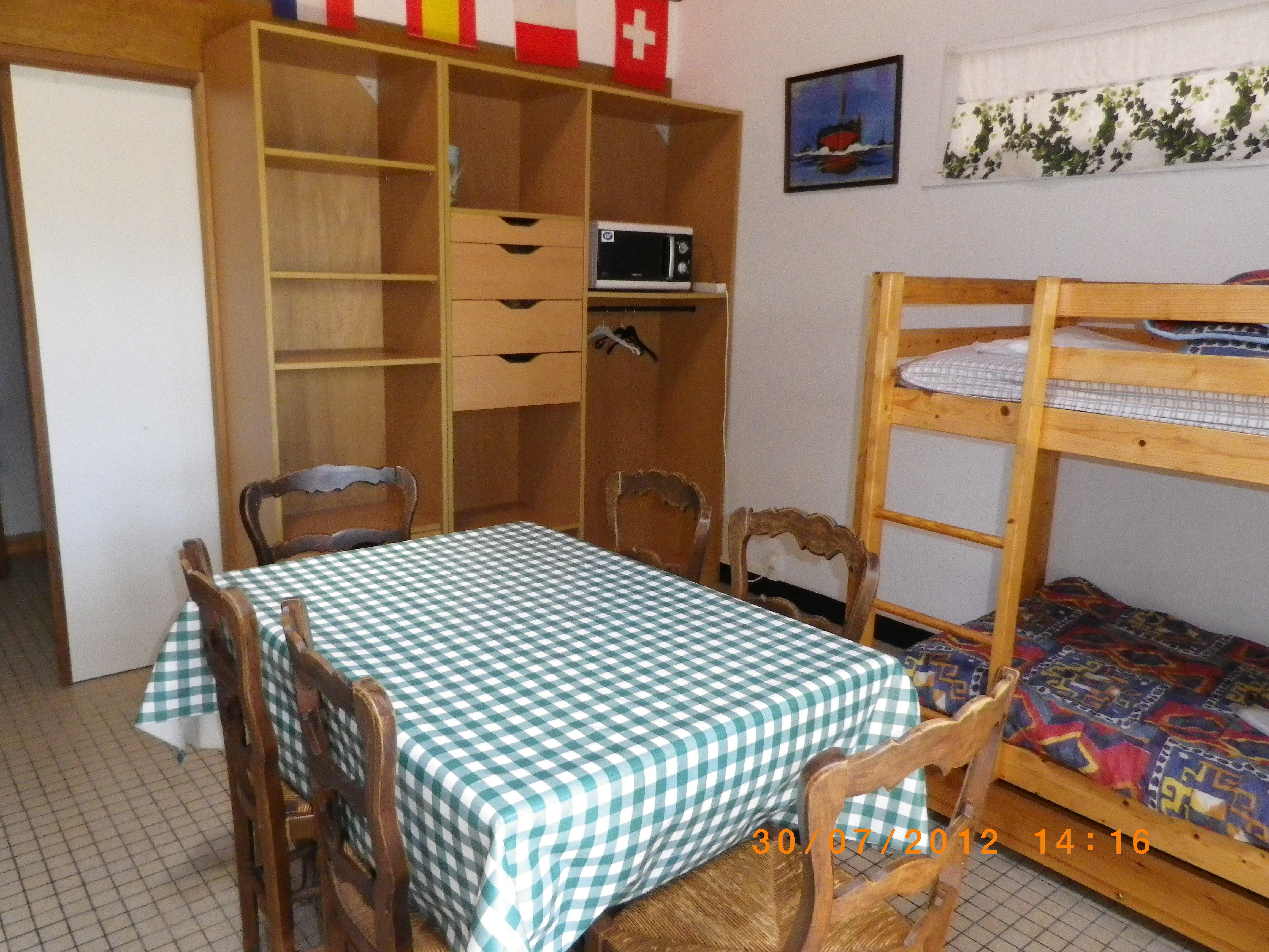 Location - Studio Pour Randonneurs - Camping Sites et Paysages Le Panoramic