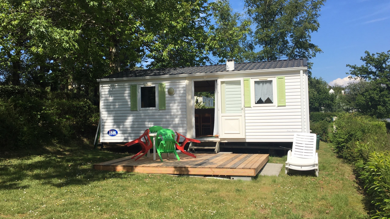 Location - M-Home Irm 29M² (2 Ch) Terrasse Vue Mer - Camping Sites et Paysages Le Panoramic