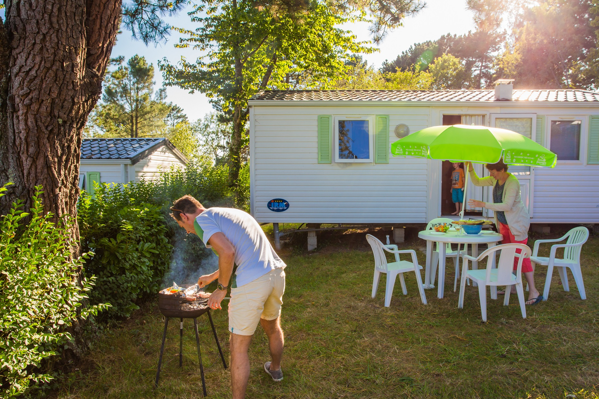 Location - M-Home Nouvel-Irm 29M² (2 Ch) Terrasse - Camping Sites et Paysages Le Panoramic