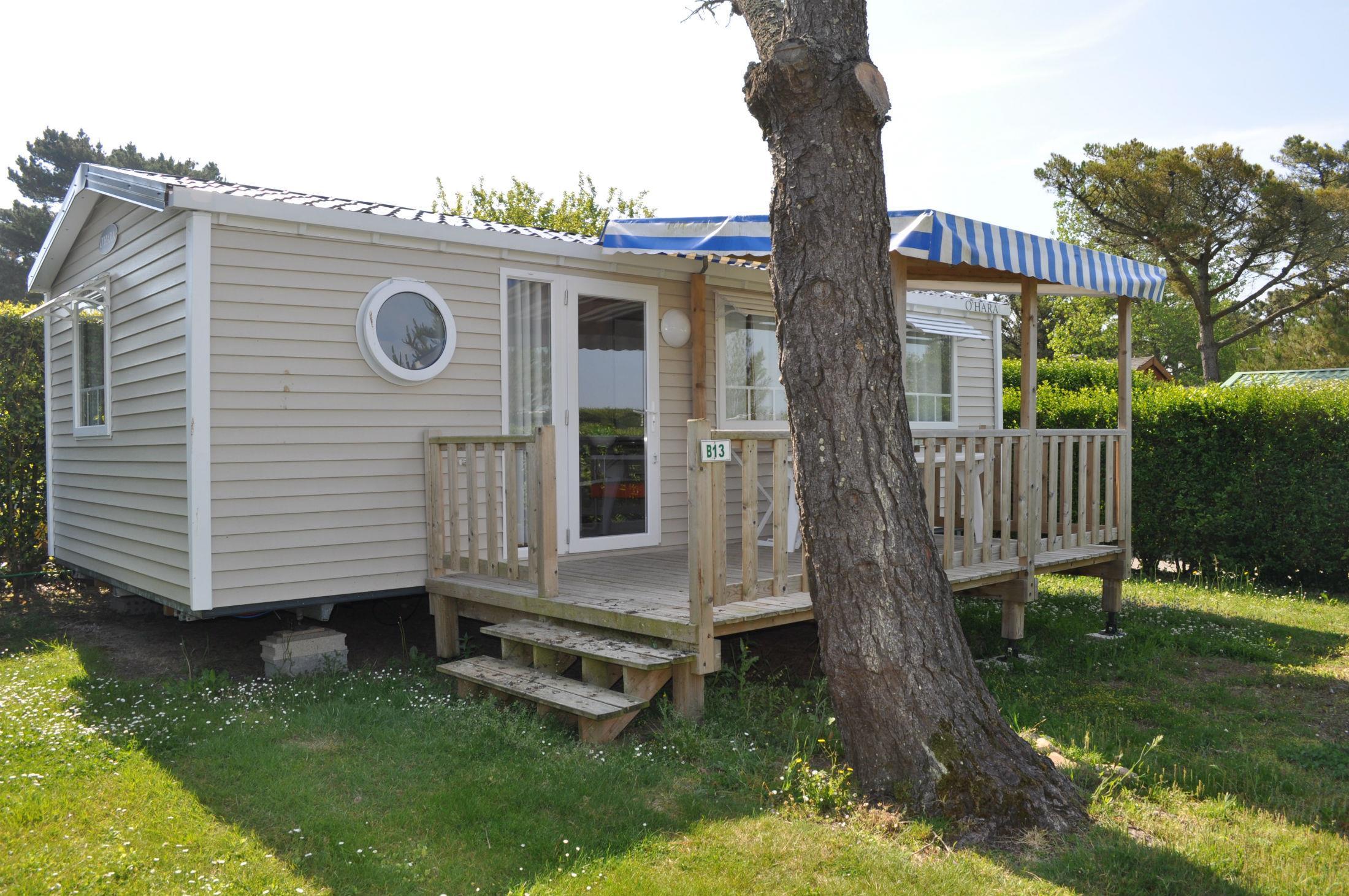 Location - Mobile-Home Classic 4/6P. Avec Tv - 2 Chambres - 1 Salle De Bain - Camping Le Moténo