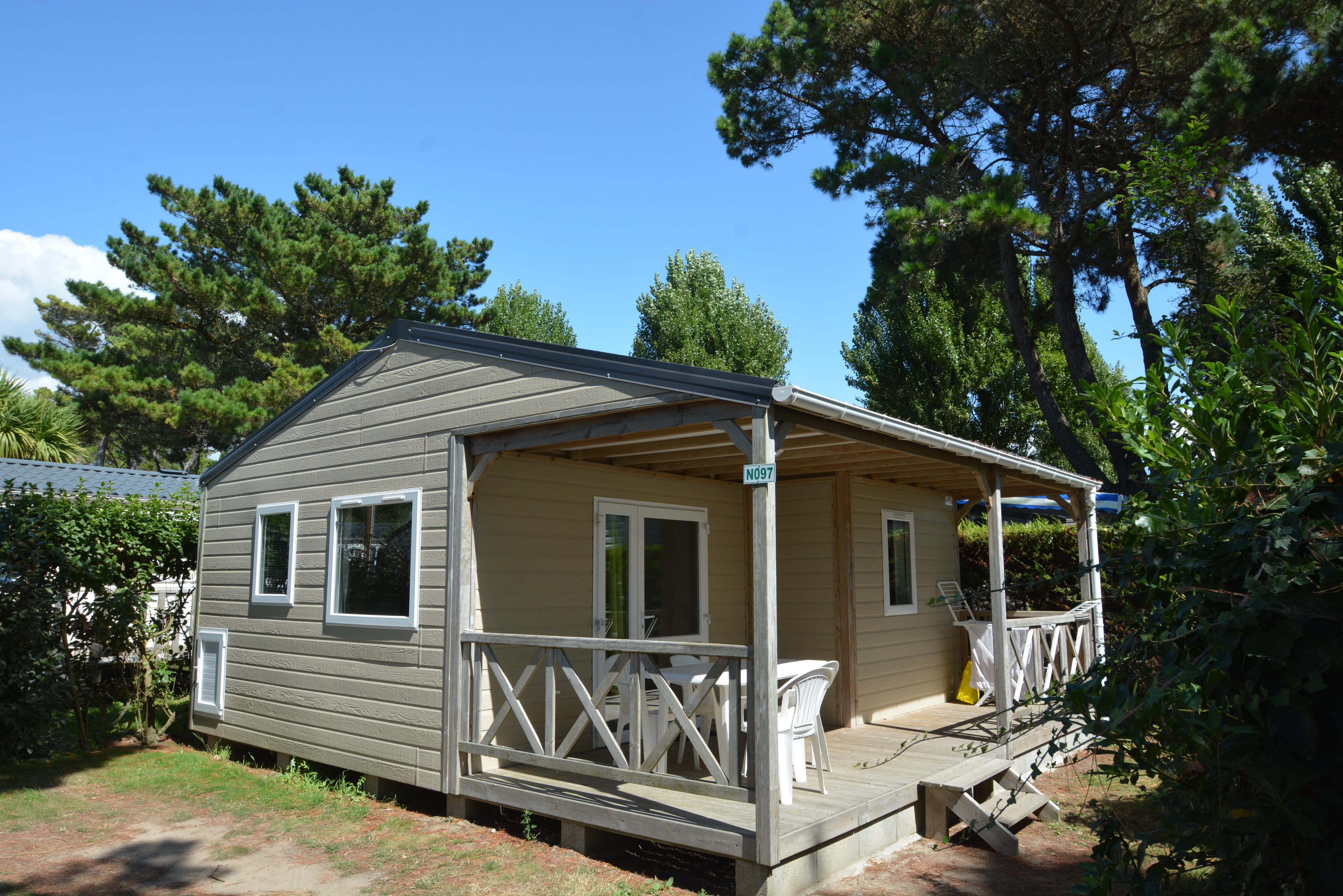 Location - Chalet 6P. Avec Tv - 3 Chambres - 1 Salle De Bain - Camping Le Moténo