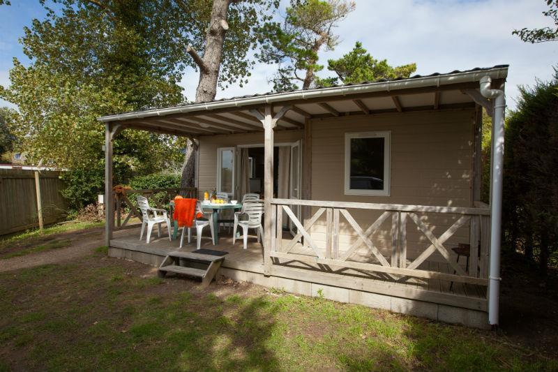 Location - Chalet 4P. Avec Tv - 2 Chambres - 1  Salle De Bain - Camping Le Moténo