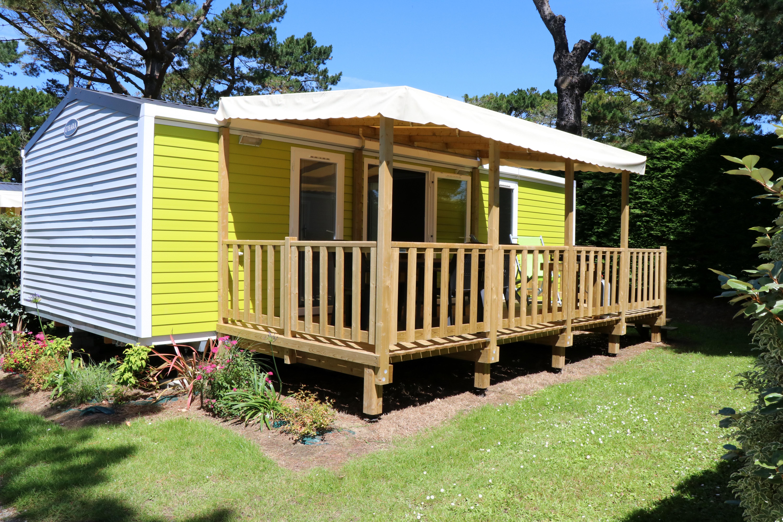Location - Mobile-Home Prestige 4P. Avec Tv - 2 Chambres - 2 Salles De Bain - Camping Le Moténo