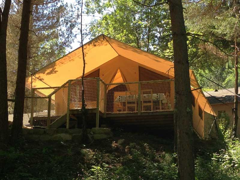 Camping Le Montagnou, Ustou, Ariège