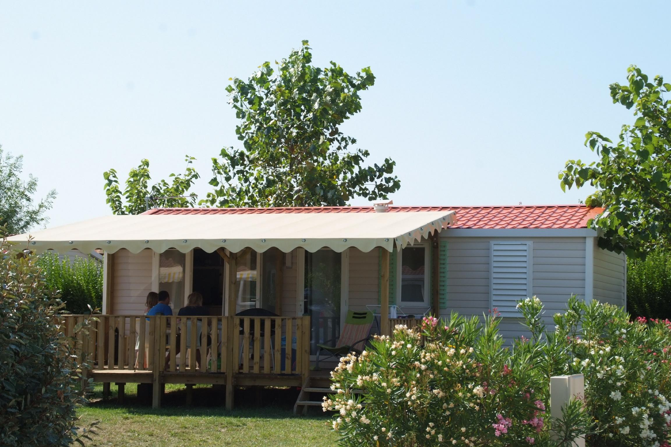 Accommodation - Mobile Home Family 3 Bedrooms (Year 2012) - Camping Le Soleil Fruité
