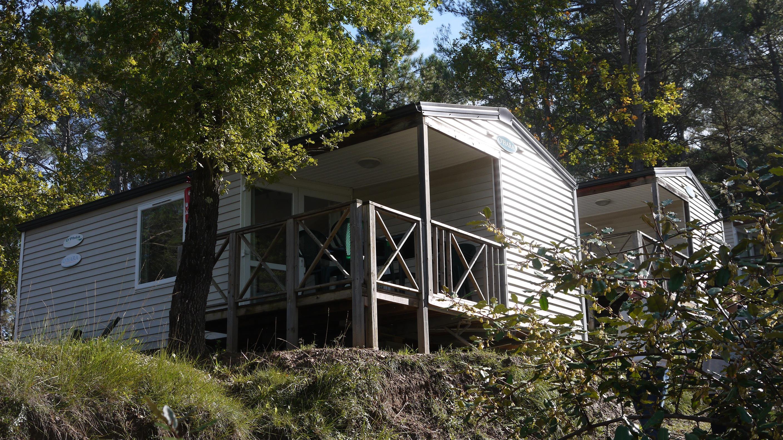 Location - Zen- 2 Chambres - 29M² - Année 2008 - Avec Sanitaire Et Terrasse (15) - Camping Club Le Ruou