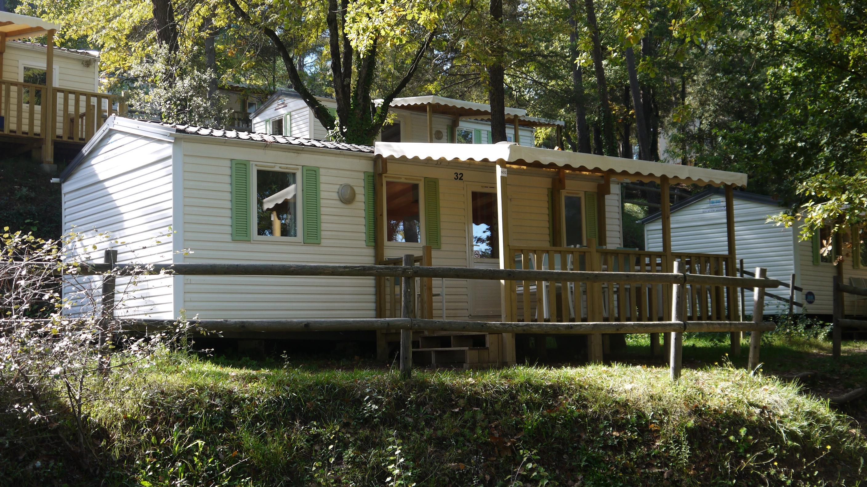 Location - Familial - 3 Chambres - 32 M² - Relooké En 2020 - Avec Sanitaire Et Terrasse (9) - Camping Club Le Ruou