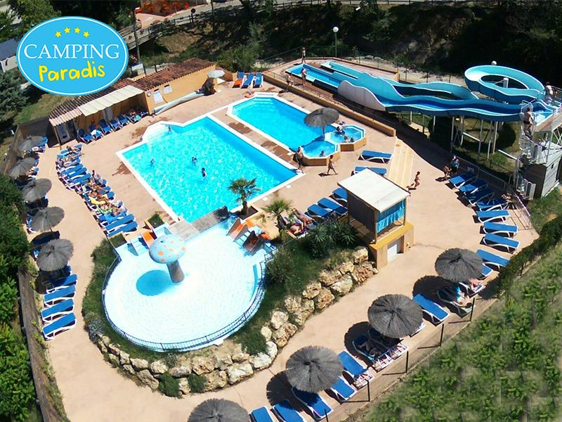 Establishment Camping Paradis Le Ruou - Villecroze Les Grottes